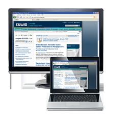 Laptop Bildschirm E-paper EUWID Papier und Zellstoff