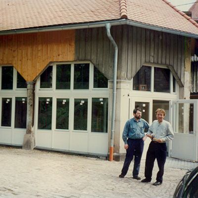 1996 EUWID history - New editorial offices