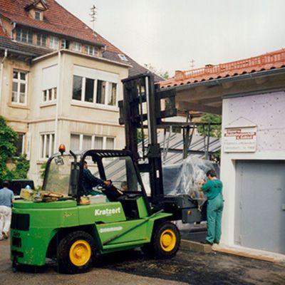 1998 EUWID Geschichte – Neue Druckerei