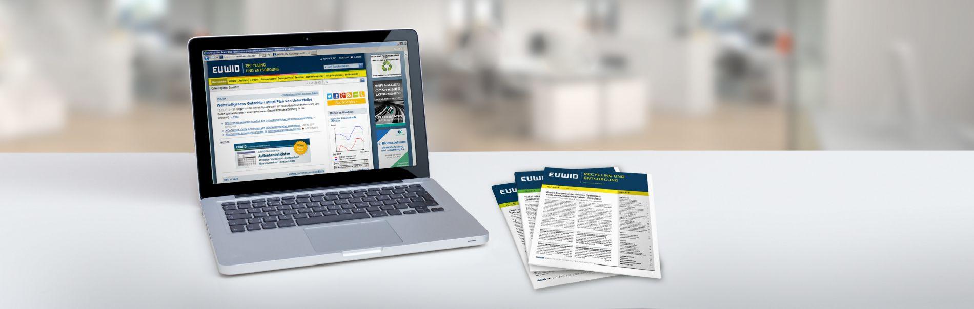 EUWID Fachmedien Digital und Print