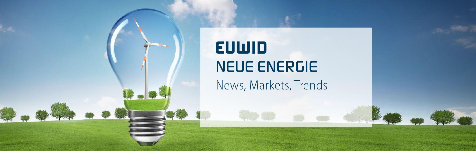 EUWID Neue Energie renewable energy englisch