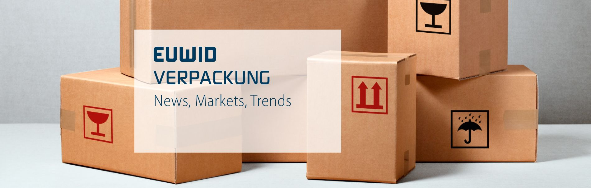 EUWID Verpackung packaging englisch