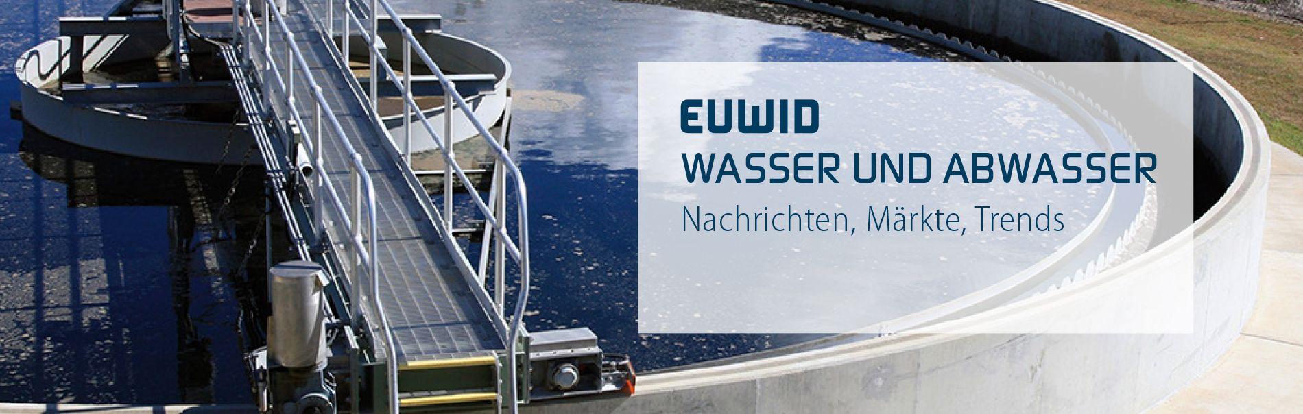 EUWID Wasser und Abwasser Nachrichten & Trends