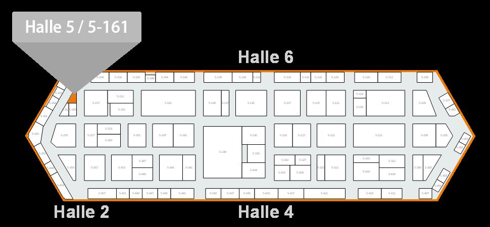 Hallenplan FachPack 2016 EUWID